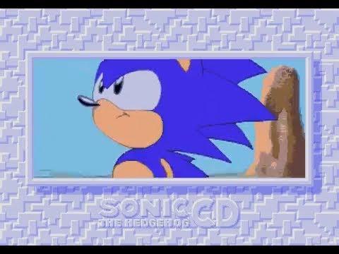 Sonic CD: Title Screen & Japanese Sega CD Opening