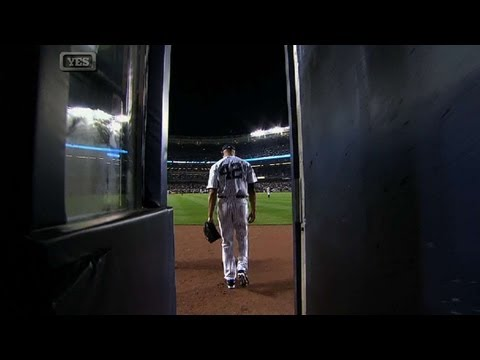 Mariano Rivera makes final entrance at Yankee Stadium