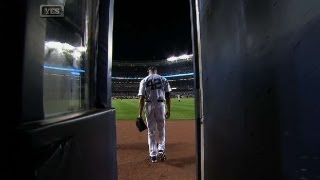 Mo's Final Entrance At Yankee Stadium