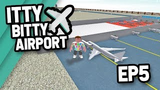 LARGE PLANES LANDING - Roblox Itty Bitty Airport #5