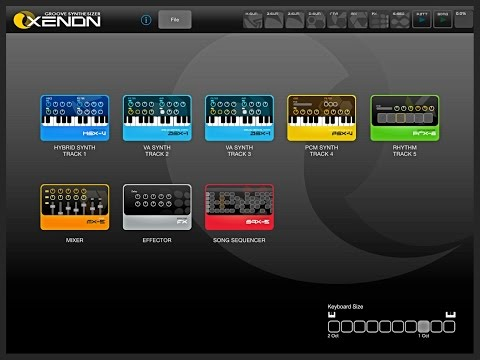 Blast From Apps Past  XENON Groove Synthesizer, Demo for iPad