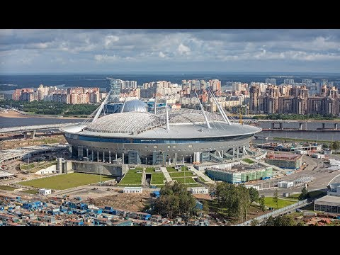 Game Day St. Petersburg, Russia. Australia x Cameroon  Confederation's Cup