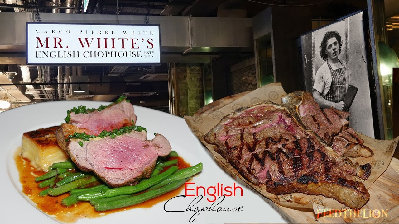Mr White S English Chophouse Halal Restaurant In Whitechapel London Youtube