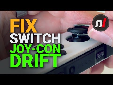 How to Fix Your Drifting Joy-Con Stick - Nintendo Switch