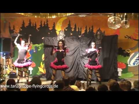 """Crazy Witches - Showtanzgruppe """"The Flying Circus""""- 2010"""