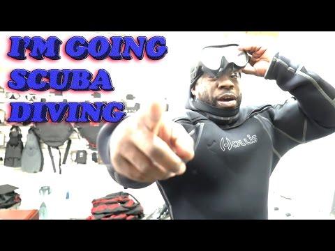 I'M GOING SCUBA DIVING