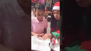 Christmas in Wafi mall