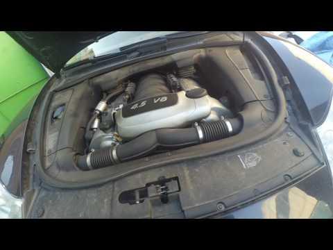 двигатель порше кайен 4.5 провал при нажатии на педаль «газа»