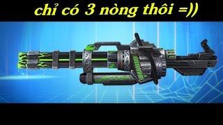 Truy Kích - Review Gatling gun Sinh học vs Zombie