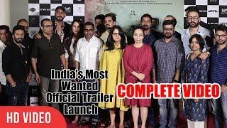 India's Most Wanted Official Trailer Launch   Arjun Kapoor, Raj Kumar Gupta   COMPLETE VIDEO