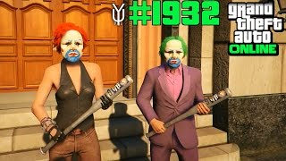 GTA 5 ONLINE #1932 Mr & Mrs Psycho Clown Let`s Play GTA V Online PS4 YU91