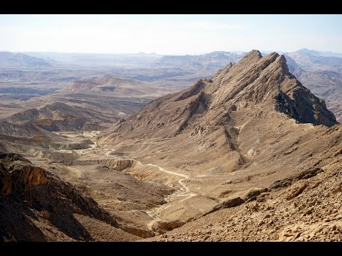 ISRAEL: Hiking The Shvil Israel trail - 3. Negev desert