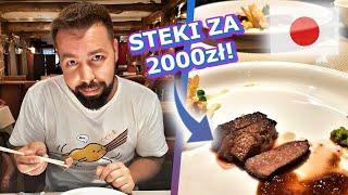 Gambar cover Najdroższe STEKI na ŚWIECIE? - KOBE / Vlog. 9🥩