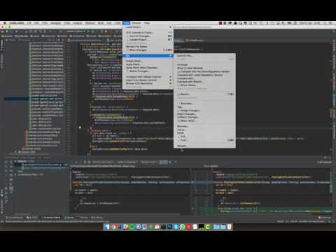 Using intelliJ Rebase to change the commit history