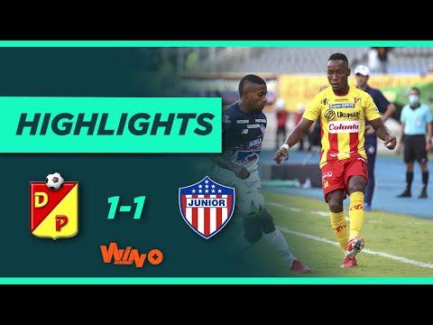 Pereira vs Junior (Goles y Highlights) Liga BetPlay Dimayor 2021-II | Fecha 9