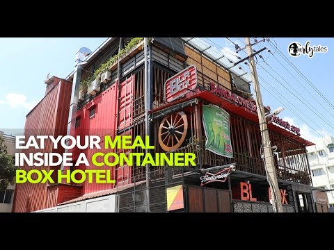 Eat Inside A Container Box At Bangalore Box In Bannergatta | Curly Tales