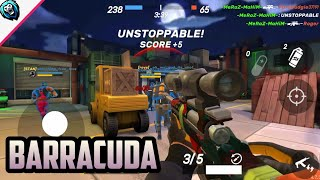 BARRACUDA Unstoppable Gameplay - Guns of Boom