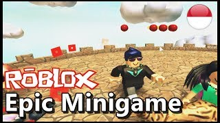 Ngakak. main mini game ROBLOX INDONESiA 😂😊 | Roblox epic minigame