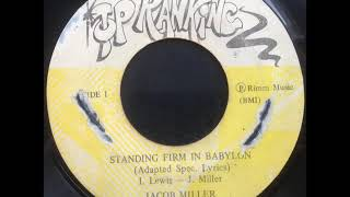 Jacob Miller - Standing Firm in Babylon / Straight from the Vampire's Head