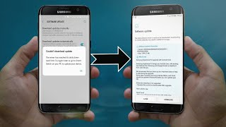 S7 and S7 edge oreo update problem solve   Solution is here