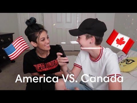 Testing my American Girlfriend's Canadian Knowledge