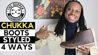 4 Ways to Style Chukka Boots | 4 Ways to Wear Chukka Boots