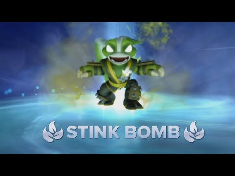 Stink Bomb - Skylanders Swap Force Gameplay