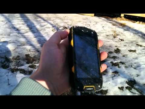 Краштест смартфона TeXet X-Driver