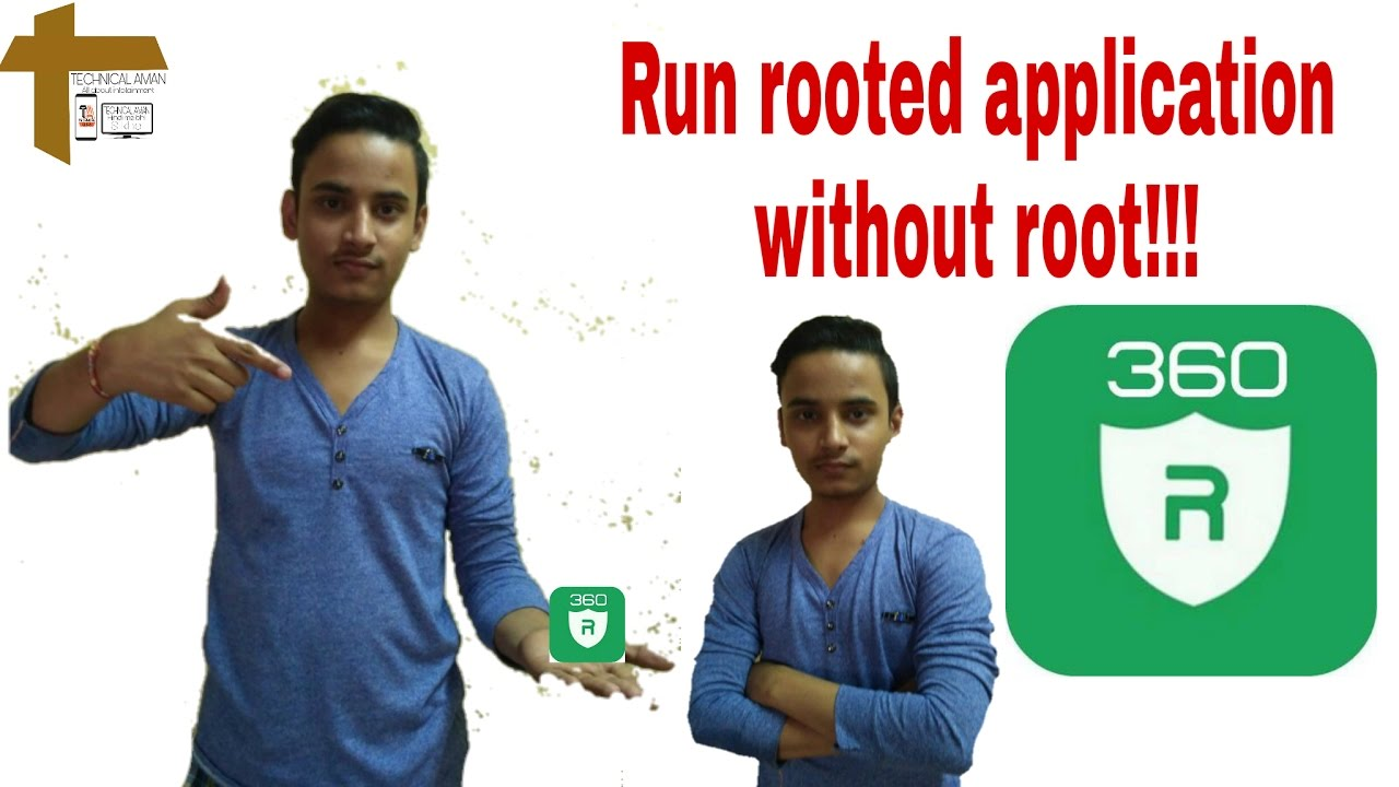 How to run rooted application without root in any Android devices