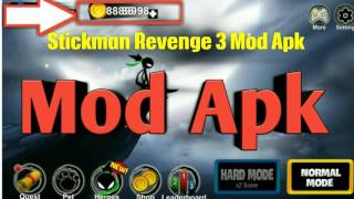 Stickman Revenge 3 Mod Apk V1.0.12 - Hack No Root + Android Gameplay