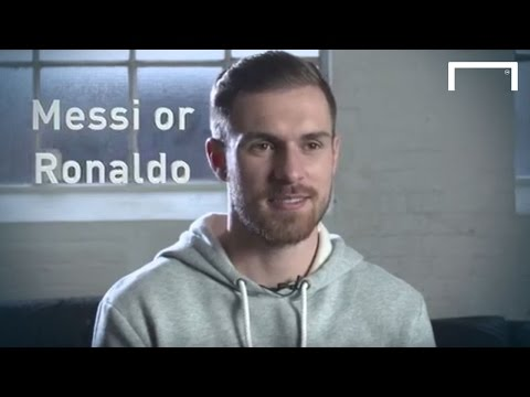 Quick-fire questions with Aaron Ramsey