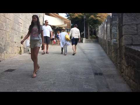 Walk to San Marino Guaita Castle part 3