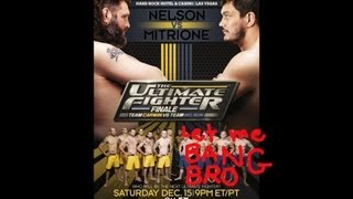 UFC on FX 6 and TUF 16 Finale Preview