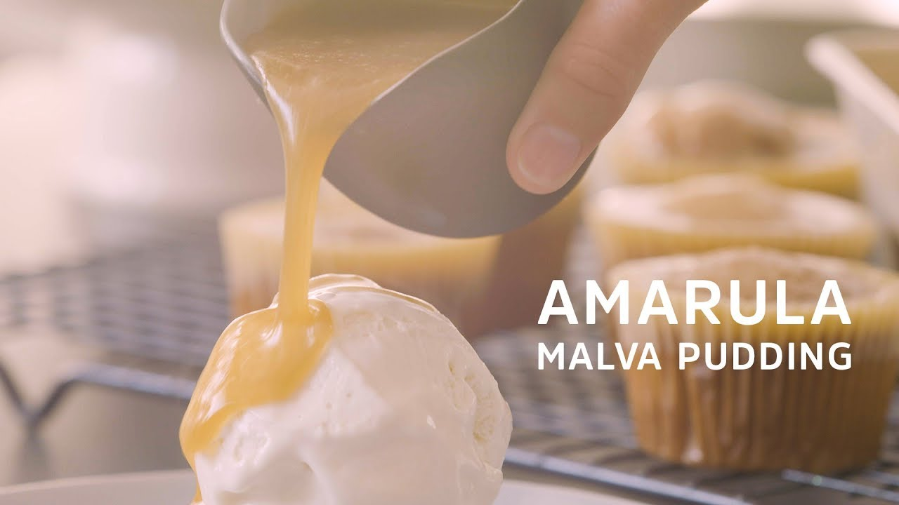 Sticky Amarula Malva Puddings