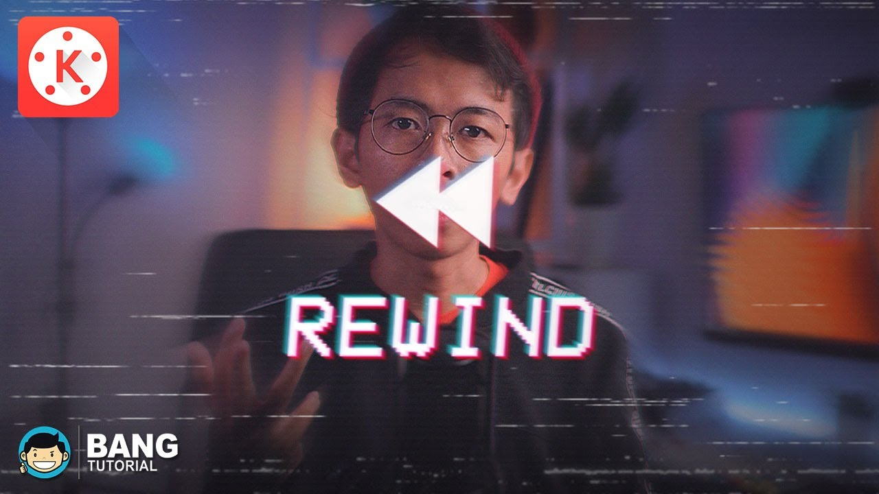 Cara Edit Video Rewind Reverse Di Hp Android Kinemaster Tutorial 39 Youtube