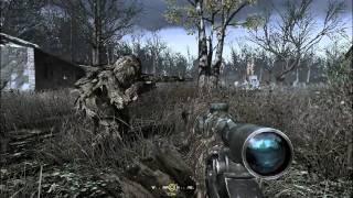 Call of Duty 4: Modern Warfare Walkthrough 13 -  All Ghillied Up  - part 1
