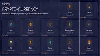 NEW!!! Mining ANY CRYPTO-CURRENCY - FREE 200 GHS
