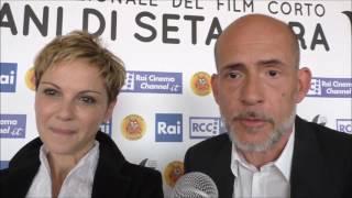 Videointervista a GianMarco Tognazzi e Valeria Milillo a Tulipani di Seta nera