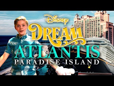 Disney Dream Cruise to Nassau, Bahamas - Atlantis Aqua Adventure, The Dig, and Dolphin Interaction