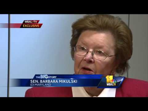 Exclusive: Sen. Barbara Mikulski on retirement