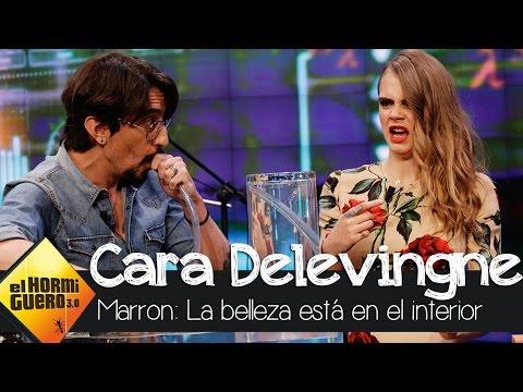 CIENCIA MARRON: La belleza interior de Cara Delevingne - El Hormiguero 3.0