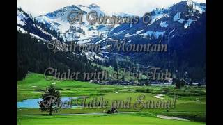 Gorgeous Alpine Meadows Mountain Chalet For Rent