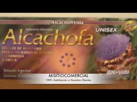 Sirven las ampolletas de alcachofa para bajar de peso