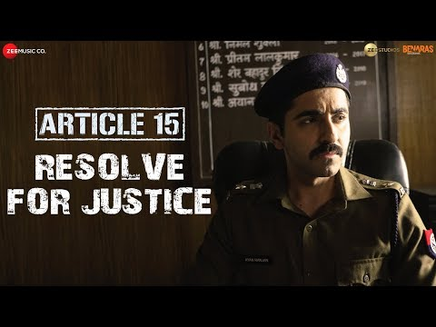 Article 15 | Resolve for Justice | Ayushmann Khurrana | Anubhav Sinha | In Cinemas Now Mp3