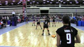Faith Squier - 2014 Nike MidEast Qualifier Highlights w/ Club Highlights