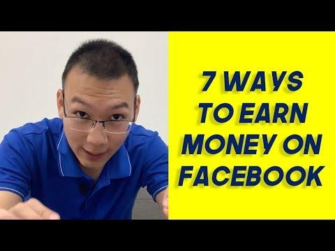 7 Ways To Earn Money On Facebook