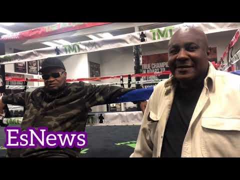 (CLASSIC)  The Body Snacher, Eddie Mustafa & Bad Chad Dawson At  Mayweather Boxing Club