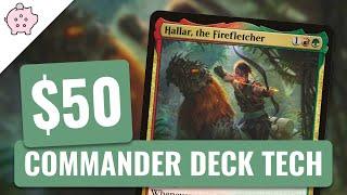 Hallar, the Firefletcher   EDH Budget Deck Tech $50   +1 Counters   Magic the Gathering   Commander