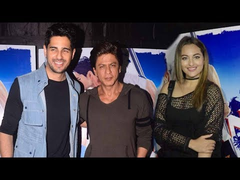 'A Gentleman' Movie Special Screening | Shahrukh khan, Aditya Roy Kapur, Sonakshi Sinha Mp3