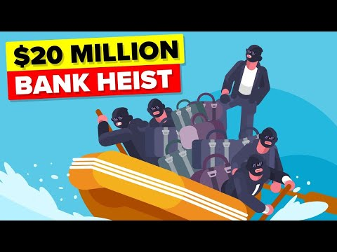 Insane Way Bank Robbers Executed Perfect Bank Heist (Stole $20 Million)